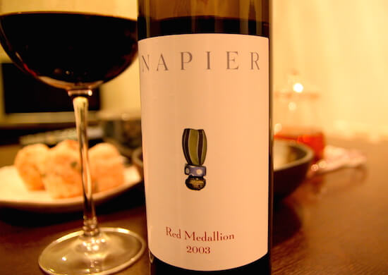 Napier Red Medallion