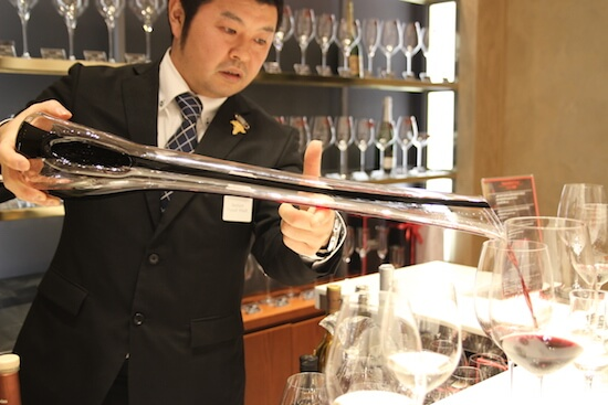 sommelier-decantage