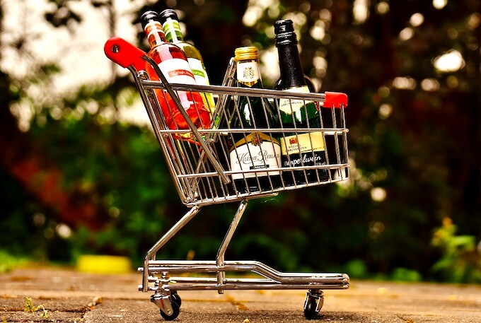 wine-shoppingcart