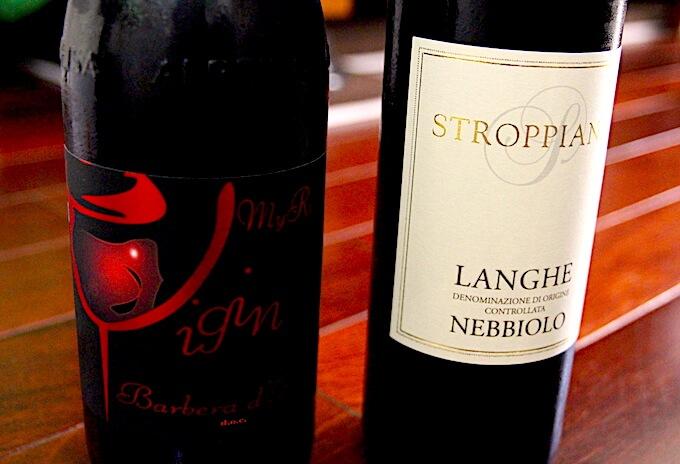 ヴィジンとストロッピアーナのワイン