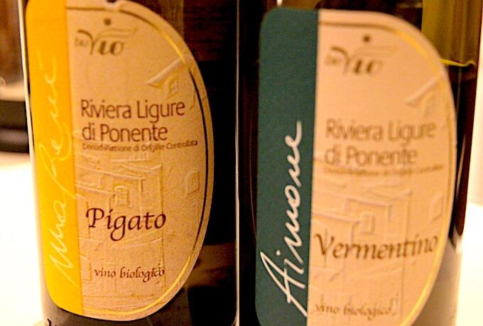 リヴィエラ・リグーレ・ディ・ポネンテのワイン2本