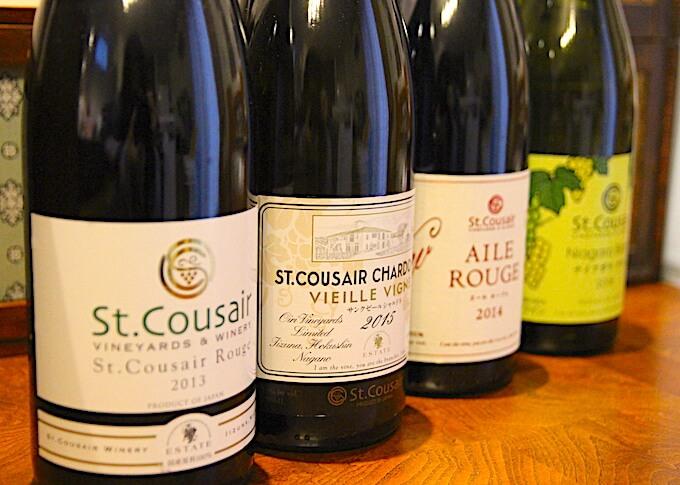サンクゼールのワイン