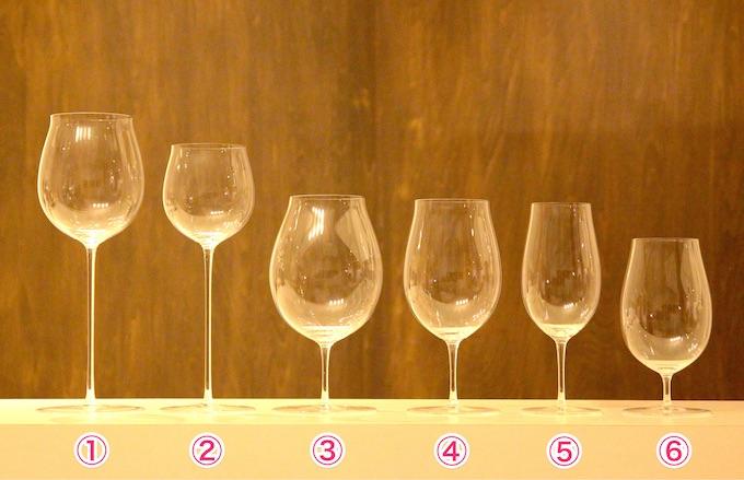 ロブマイヤー・バレリーナワイングラス1から6