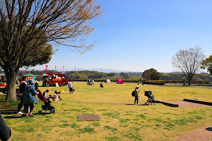 フードパル熊本の芝生広場