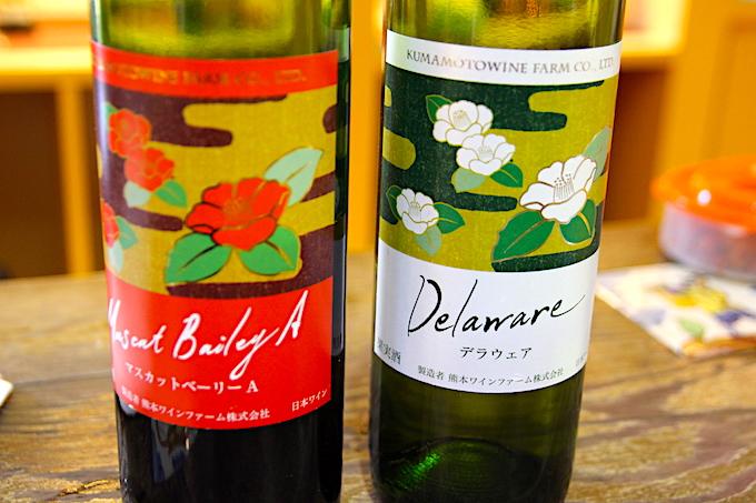 熊本ワイン「肥後六花」の試飲