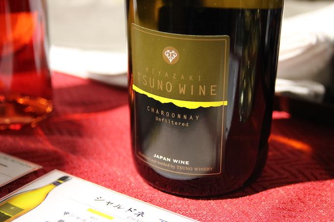 都農ワインのシャルドネ・アンフィルタード