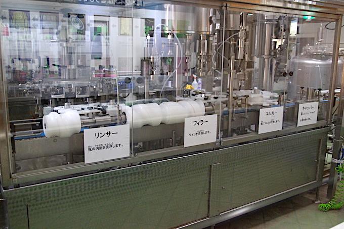 熊本ワインの工場