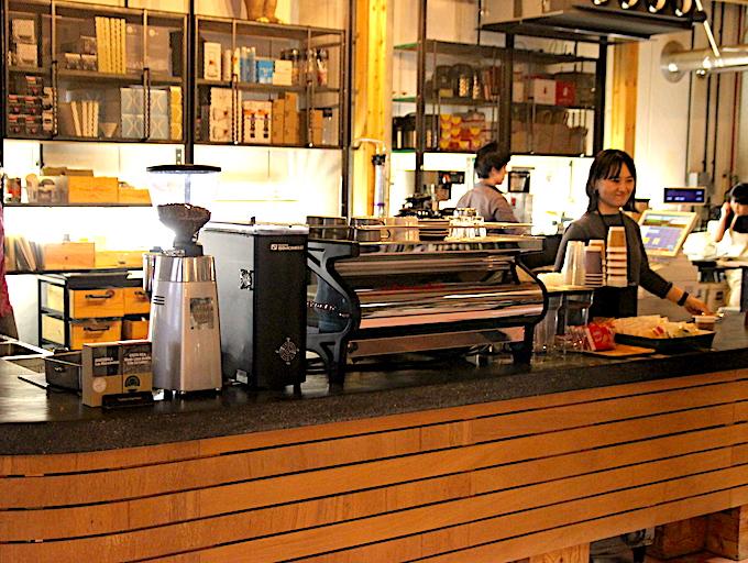 タカムラのコーヒーカウンター