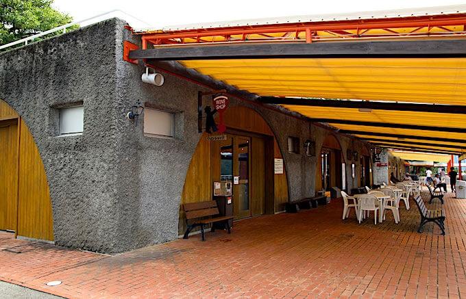 登美の丘ワイナリーのレストラン