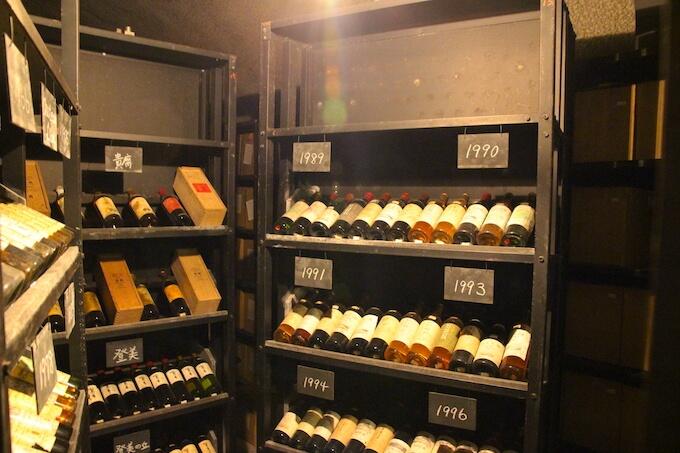 ヴィンテージワインの部屋
