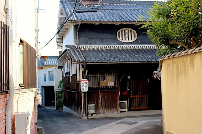駒ヶ谷の竹内街道