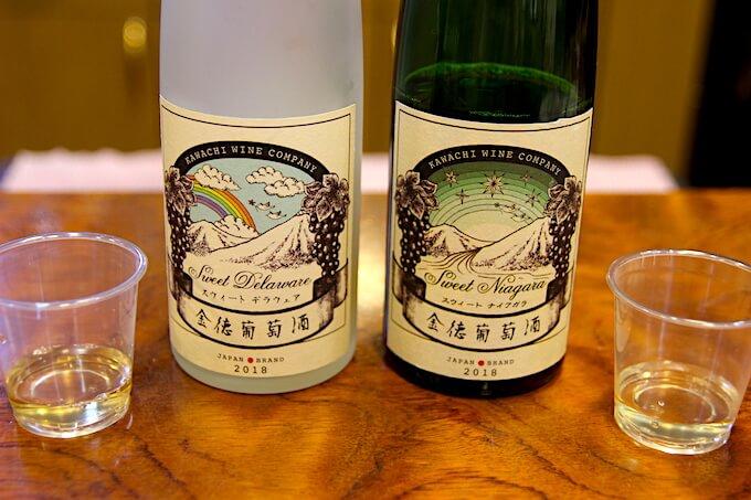 河内ワインの甘口ワイン
