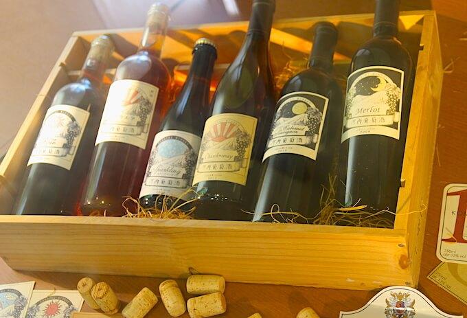 河内ワインのワイン