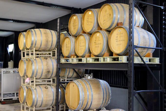 ワインの木樽