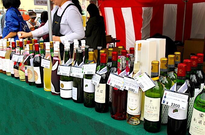 カタシモワイナリー直売所のおみやげワイン