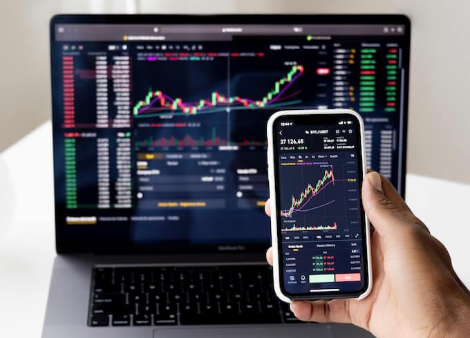 株トレードのイメージ